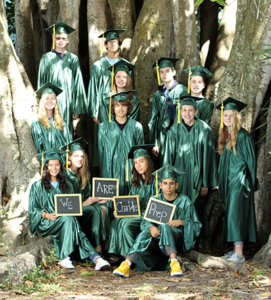 Charlotte Preparatory School, 2020 Graduating Class Photo