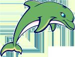 Dolphin-mascot
