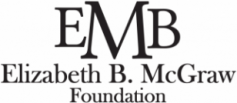 2019 Charlotte Preparatory Academy Sponsor, Elizabeth B. McGraw Foundation Logo